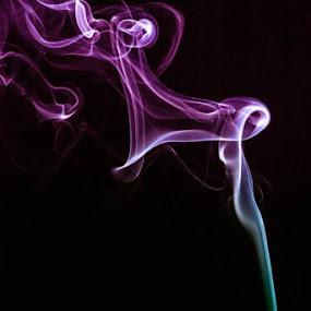 Smoke  by Zetsu Nawa - Abstract Fire & Fireworks