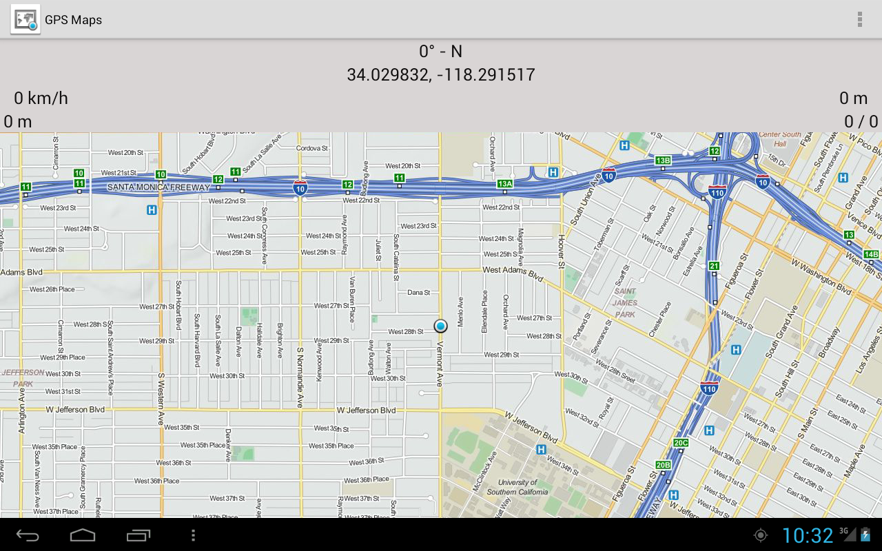 updated . gps maps  my blog
