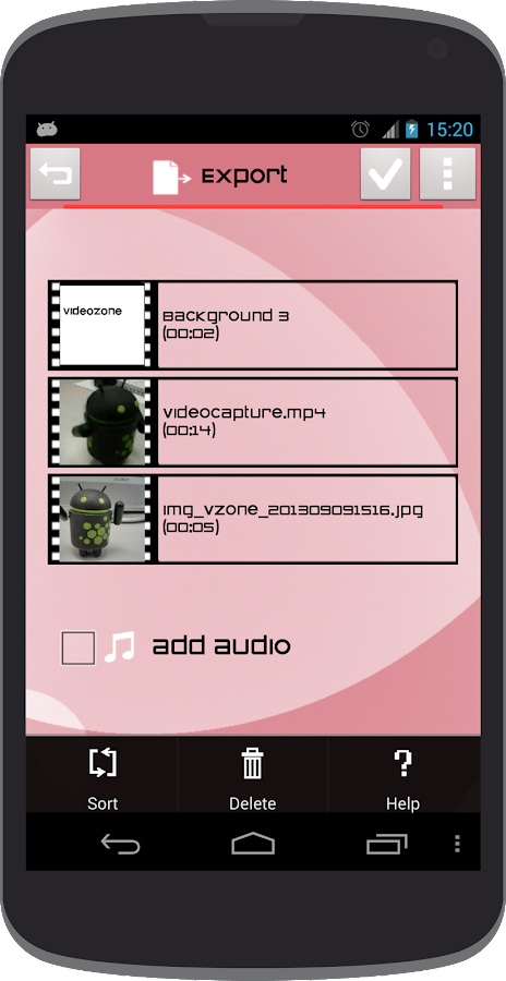 Video Zone - screenshot