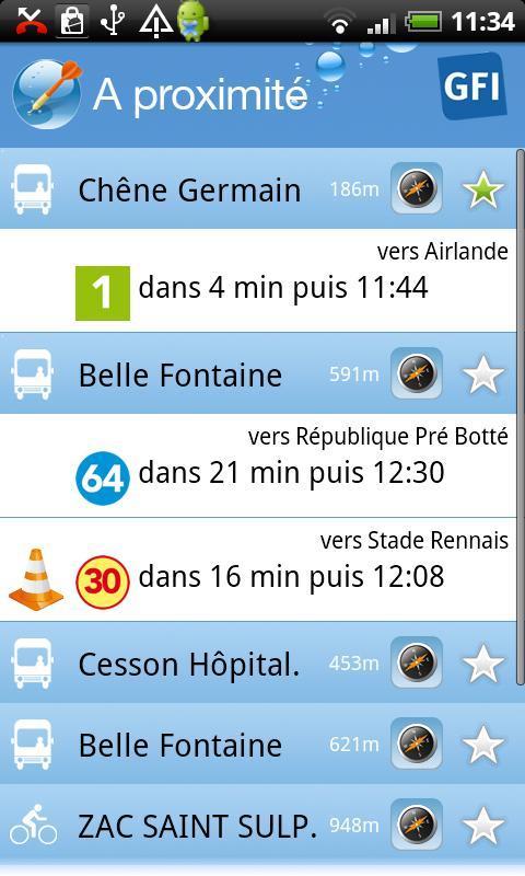 Tout Rennes Bouge - screenshot
