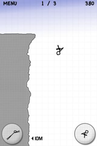 Stickman Cliff Diving screenshot #3