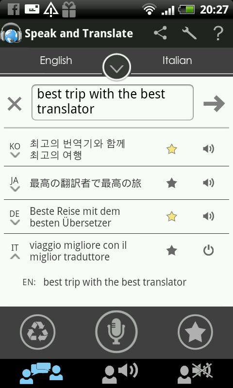 Translator Speak & Translate APK 2.5.0.12 screenshots 3