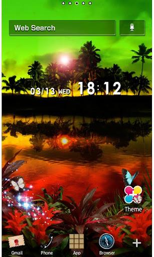 Rasta Night Wallpaper Theme 1.1 Windows u7528 1