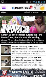 San Angelo Standard-Times - screenshot thumbnail