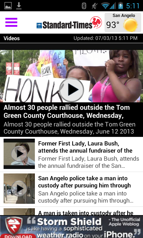 San Angelo Standard-Times - screenshot