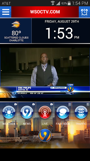WSOC-TV Wake Up App