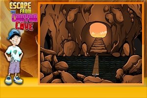 Screenshot of Escape From The Canyon Cave