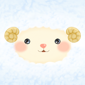 Happy Sheep Atom Theme