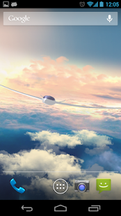 Flight in the sky 3D - náhled