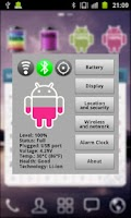 Screenshot of Pink Android Battery