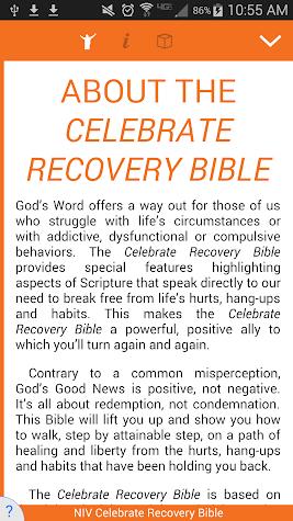 Celebrate Recovery Bible Screenshot