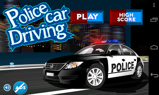 Police Car Driving
