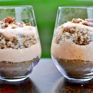 Pumpkin Pie Quinoa Parfaits.