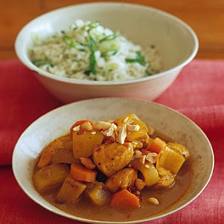 Yellow Curry Chicken.