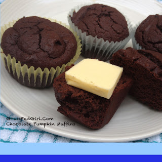 Grain Free Chocolate Pumpkin Muffins