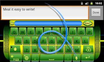Screenshot of SlideIT Brazil Skin