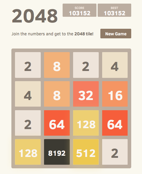 2048, the famous game - Android Apps on Google Play