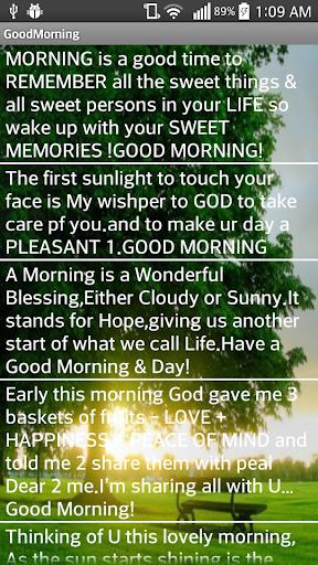 【免費生活App】Good Morning-APP點子