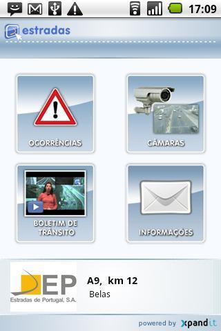 Estradas.pt - Versão Android- screenshot