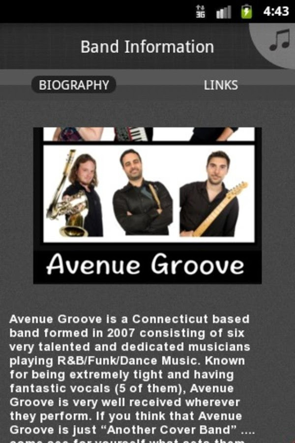 Avenue Groove - screenshot