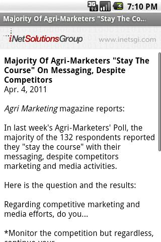 Agri Marketing - screenshot