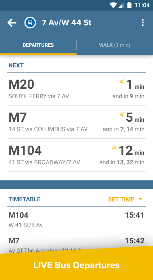 Citymapper- screenshot