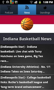 Indiana Basketball - screenshot thumbnail