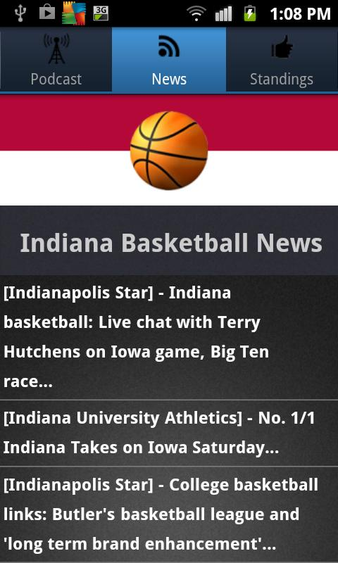Indiana Basketball - screenshot