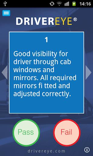 Driver eye