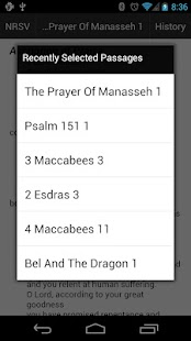 NRSV Translation Bible Touch- screenshot thumbnail