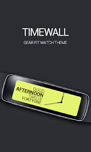 Timewall Clock Screenshot