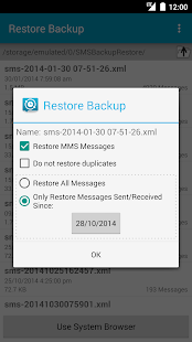SMS Backup & Restore Pro- screenshot thumbnail