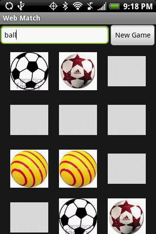 Web Match Game (Free)- screenshot