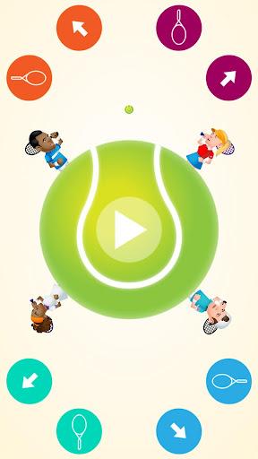 玩免費體育競技APP|下載圆形的网球2人游戏 app不用錢|硬是要APP