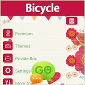 GO SMS Bicycle Theme