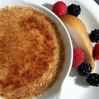 Crème Brûlée.