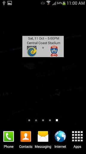 A-League 2014 15 Widget