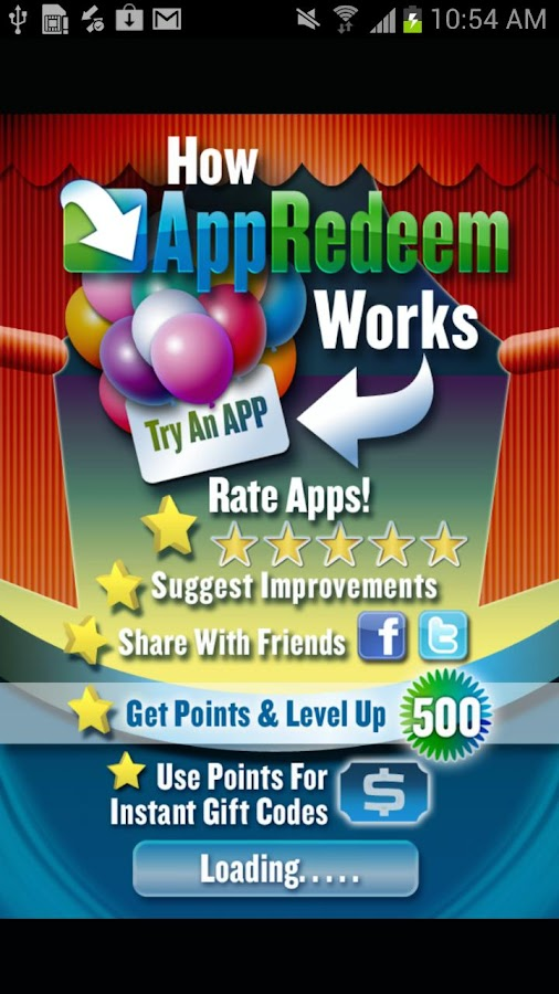 AppRedeem- screenshot