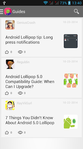 Guide for Android 5 Lollipop
