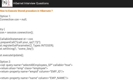 Java J2EE Interview Questions - screenshot thumbnail