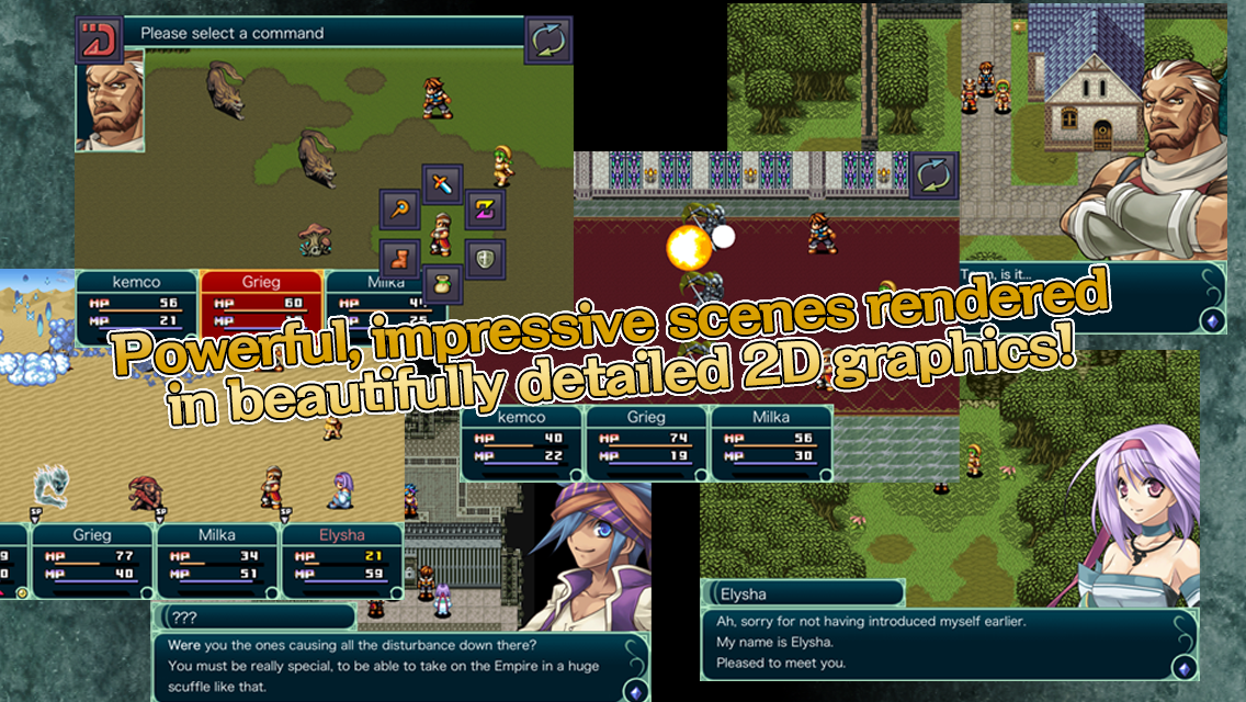 RPG Grinsia- screenshot