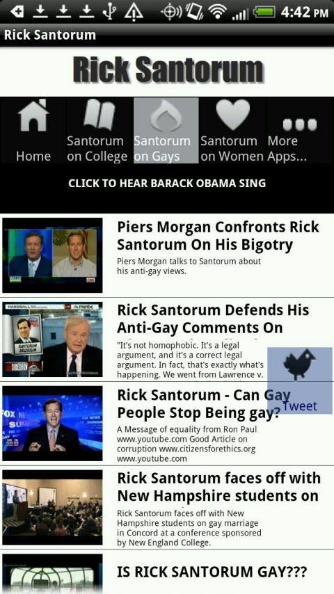 Rick Santorum - screenshot