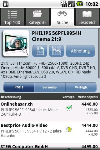 Toppreise.ch - screenshot