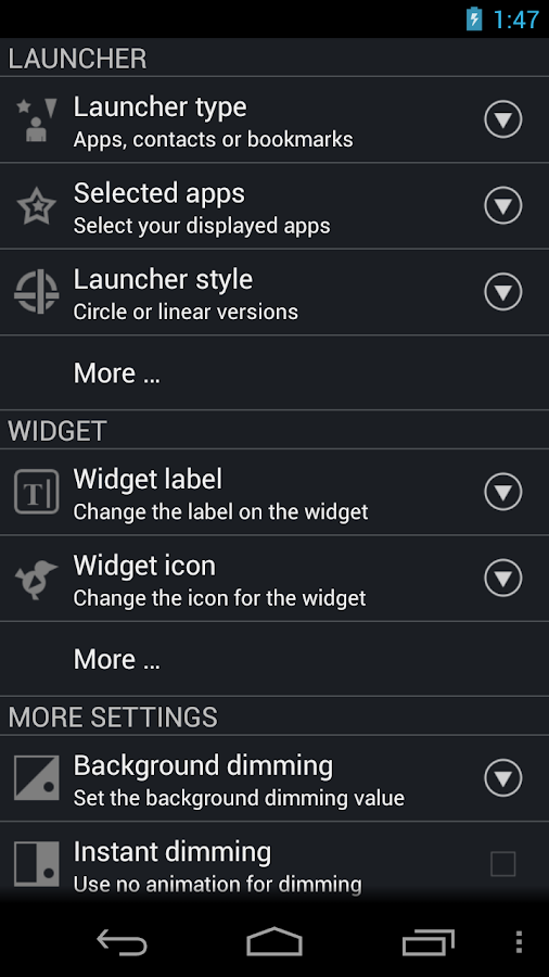 CircleLauncher - screenshot