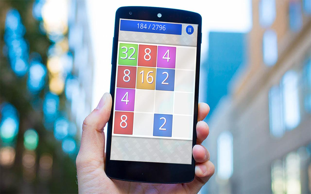Smooth 2048- screenshot