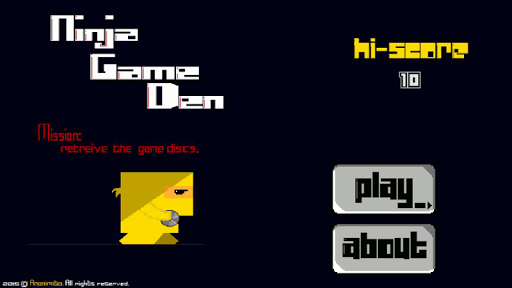 Ninja Game Den