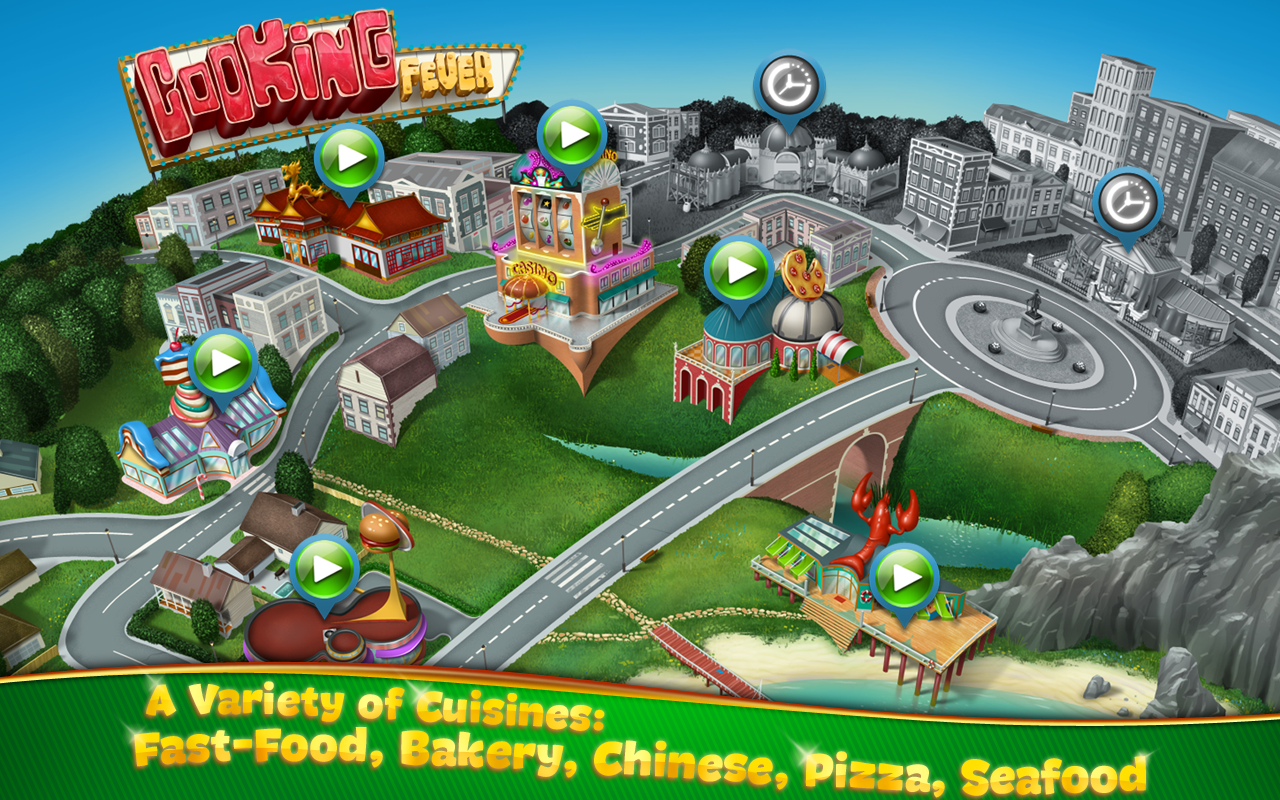 Cooking Fever Mod Apk (Unlimited Money/Gems) 2