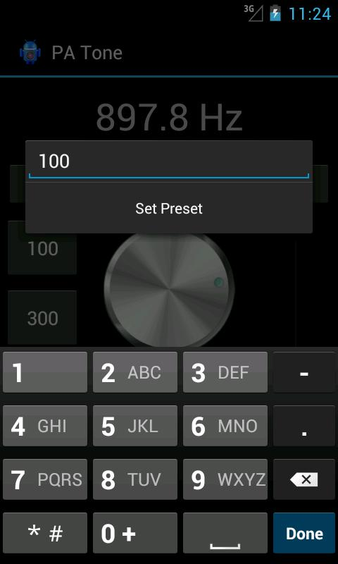 Pro Audio Tone Generator - screenshot