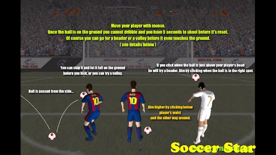 champions league free kick game
