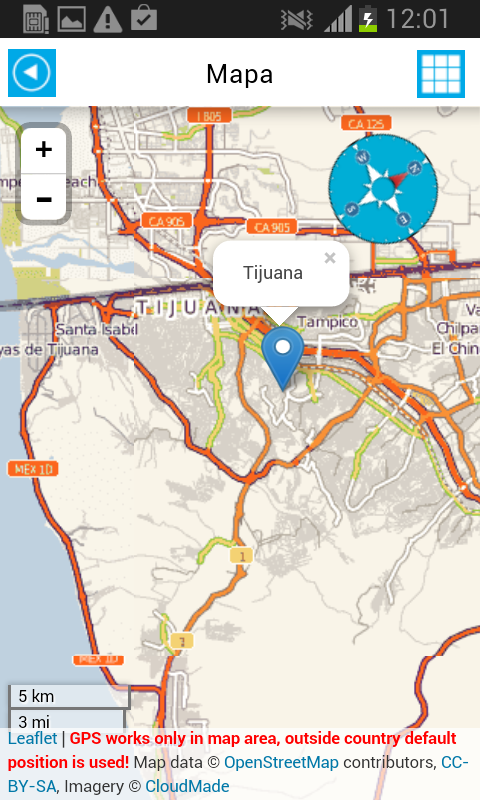 Mexico Offline Map Weather Android Apps On Google Play - Maps de mexico